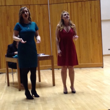 Impresario Student Opera two sopranos
