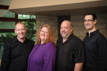 Mosaic Chamber Players 2016. Jess Salek piano. Laura Burns violn, Michael Allen cello. Wes Luke violin
