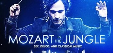 Mozart in the Jungle poster