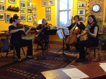 Willy Street Chamber Players string quartet cr JWB