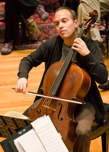 christopher costanza playing cello