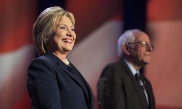 Hillary Clinton and Bernie Sanders CR GettyImages