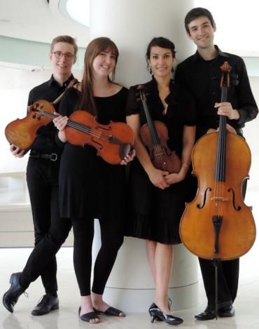 Hunt Quartet 2016 Katrin Talbot
