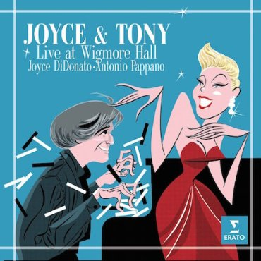 Joyce and Tony Live CD Cover