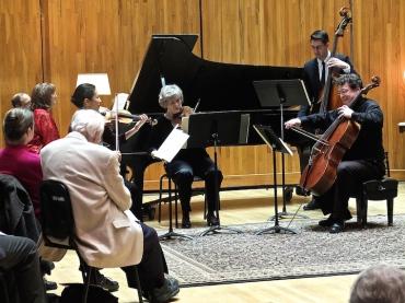 Scubertiade 2016 Trout Quintet