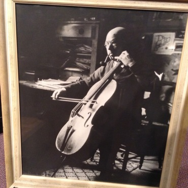 Casals and his cello