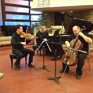 Mosaic Schubert Trio CR John W. Barker