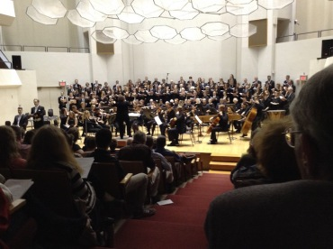 Choral Union and Chamber Orchestra Creation JWB