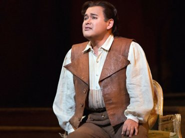 Tenor Javier Camarena CR Marty Sohl for The Met