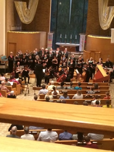 Choral Arts Society Chorale performing May 2015