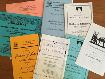 Kathleen Otterson Jamie Schmidt programs
