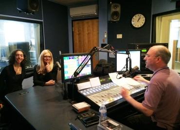 Laura Schwendinger Richmond WCVE interview with Mike Goldberg