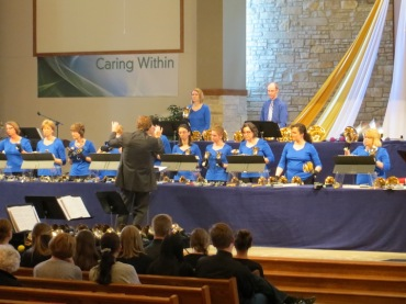 Madison Area Concert Handbells in performance 1