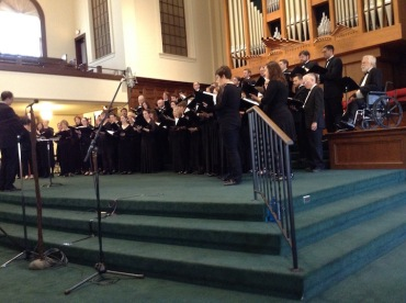 Madison Chamber Choir and Madison Choral Project combined JWB