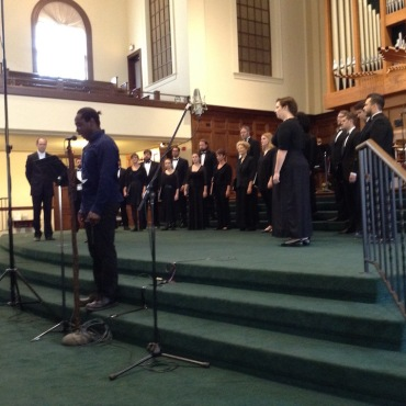 Madison Choral Project jazz Odyssey student JWB
