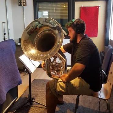 Pat In The Studio
