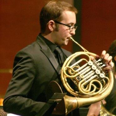Paul Literrio with horn