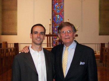 Sergei Pavlov (l) with Joseph Flummerfelt