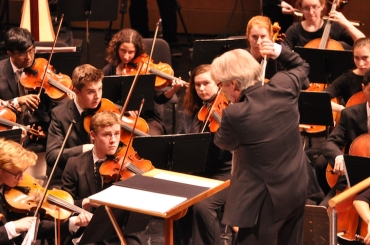 WYSO 50th James Smith conducting