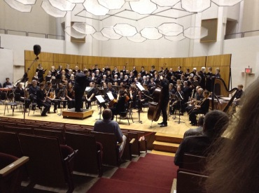 Madison Summer Choir 2016 with orchestra JWB