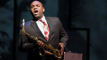 Tenor Lawrence Brownlee in Charlie Parker's Yardbird CR Dominic Mercier for Opera Philadelphia