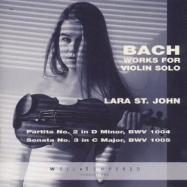 Lara St. John Bach breasts
