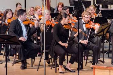 Middleton Community Orchestra strings CR Brian Ruppert