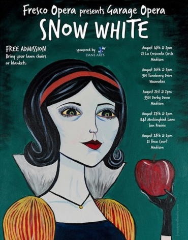 Fresco Opera Snow White poster 2016