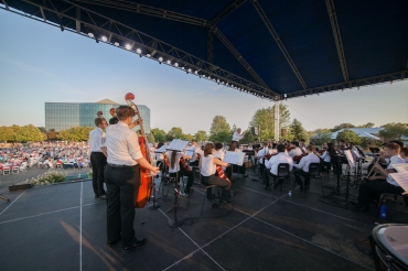 WYSO Concert in Park 2016 from backstage