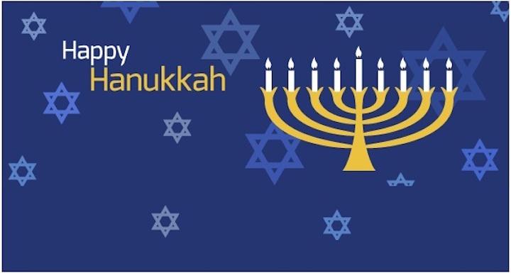 happy hanukkah logos - When Is Christmas Day 2016