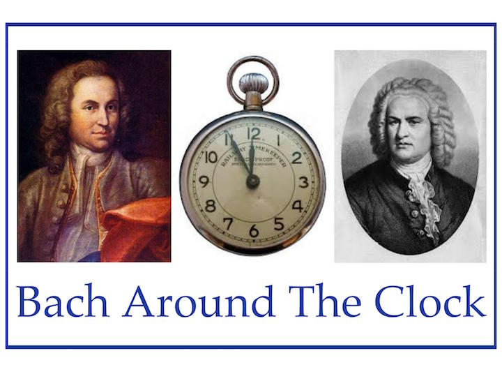Classical music: Back Around the Clock will mark Johann Sebastian's 334th birthday next Saturday with a FREE 12-hour celebration. Here is the full schedule of works and performers. Plus, Parry Karp plays all-French cello music on Thursday night