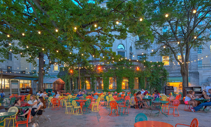 Classical music bach beethoven and brahms join beer and for Madison terrace